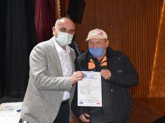 Belediye işçileri sertifika aldı